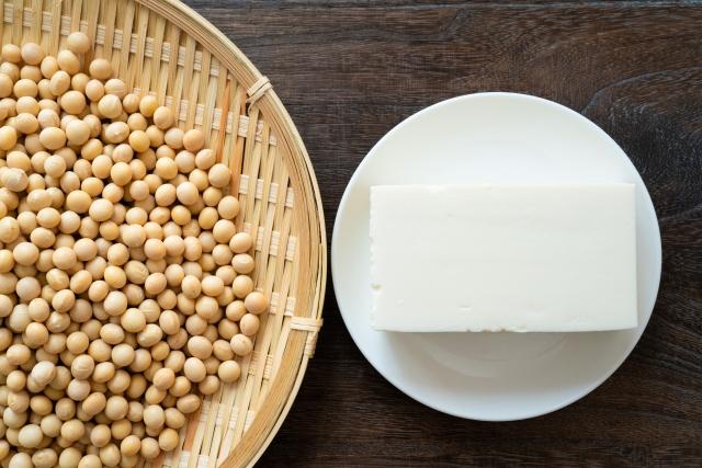 """""""豆腐と大豆""""/"""