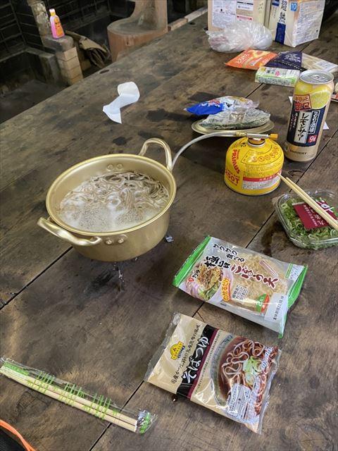 昭和テイストのアルミ鍋